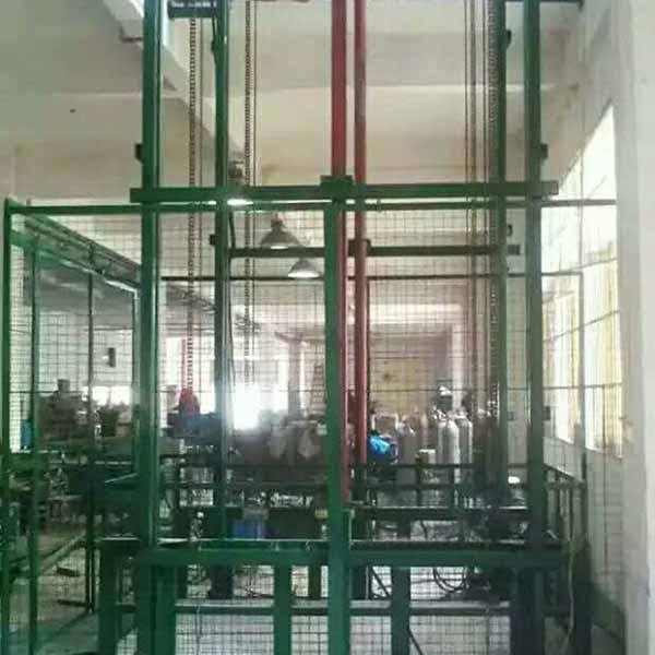 液压电动升降货梯