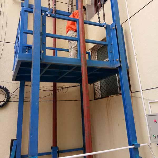 液压平台升降货梯