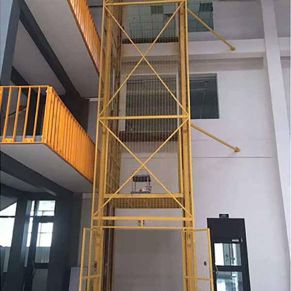 导轨式电动升降货梯