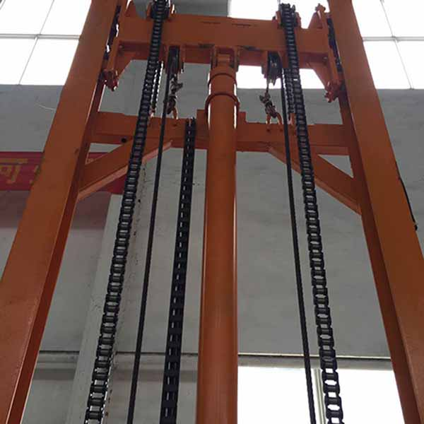 导轨式链条升降货梯