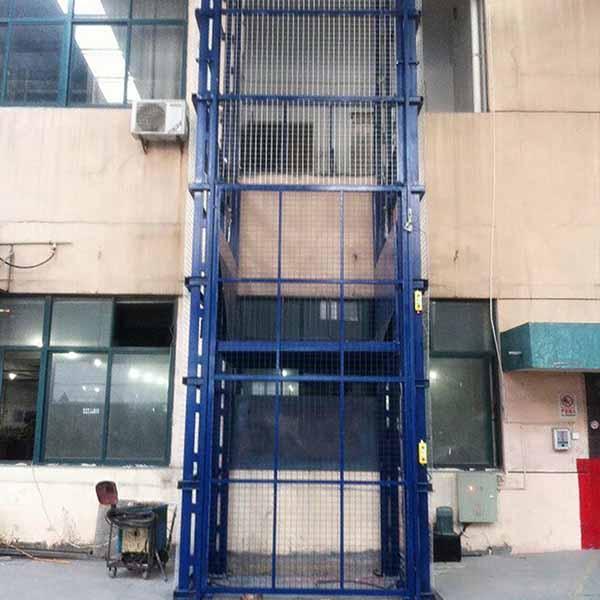 固定导轨式升降货梯