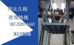 12米井道口升降货梯厂家