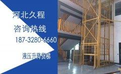 6米油缸升降货梯设计
